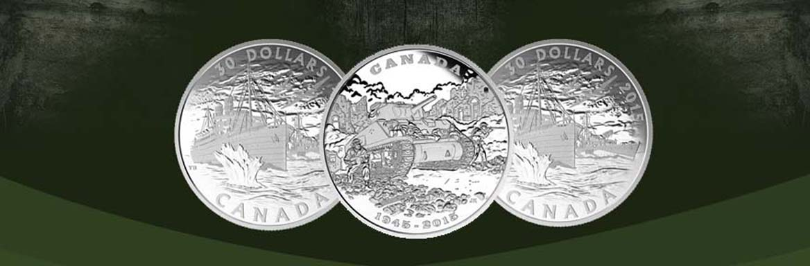 2015 Royal Canadian Mint Coins Honouring Historical Events