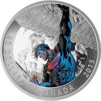 2015 Canada $20 Iconic Superman - Superman Unchained