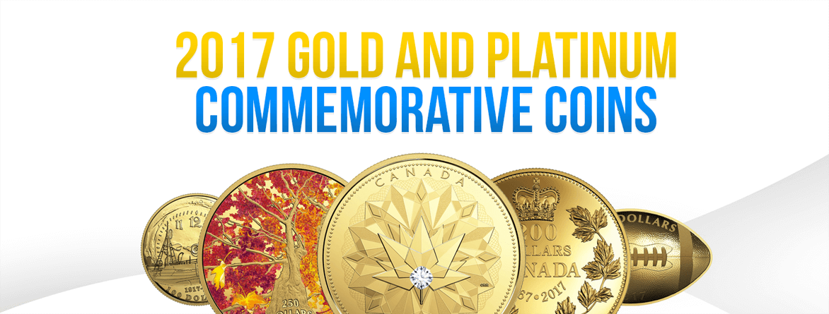 2017 Gold and Platinum Commemorative Coins