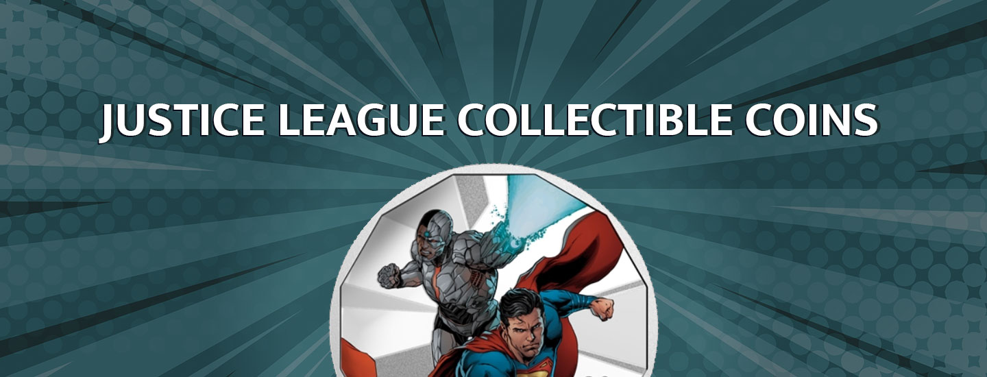 Justice League Collectible Coins