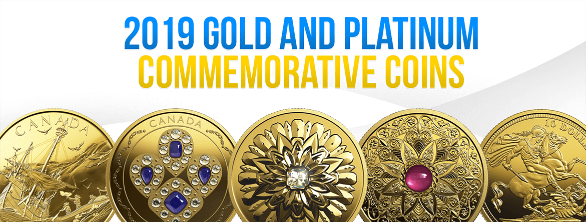 2019 Gold and Platinum Commemorative Coins