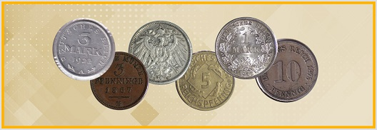 World Coins Featuring Germany