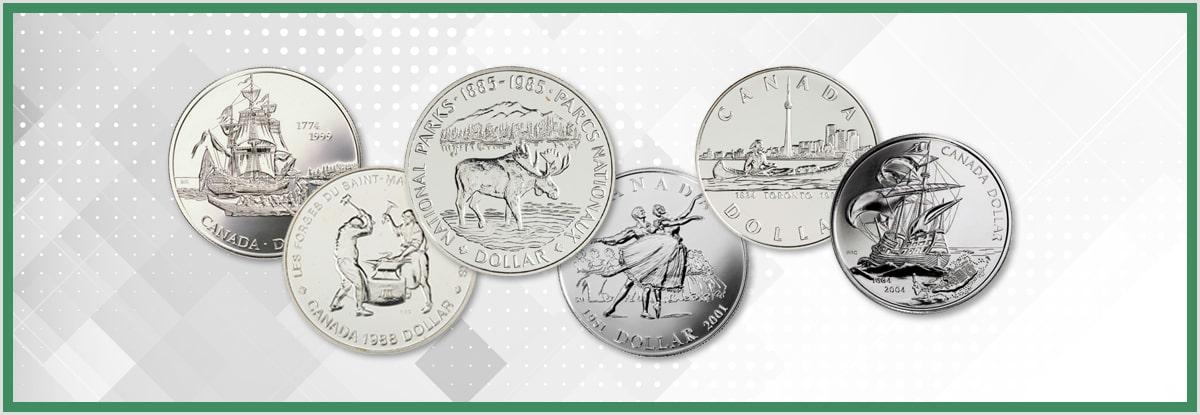 CANADA 1987 LOONIE BRILLIANT UNCIRCULATED DOLLAR COIN