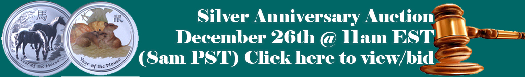 Silver Aniversary Auction
