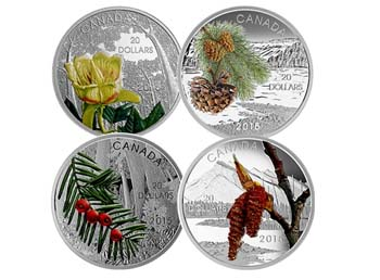 Forests of Canada Coin Set
