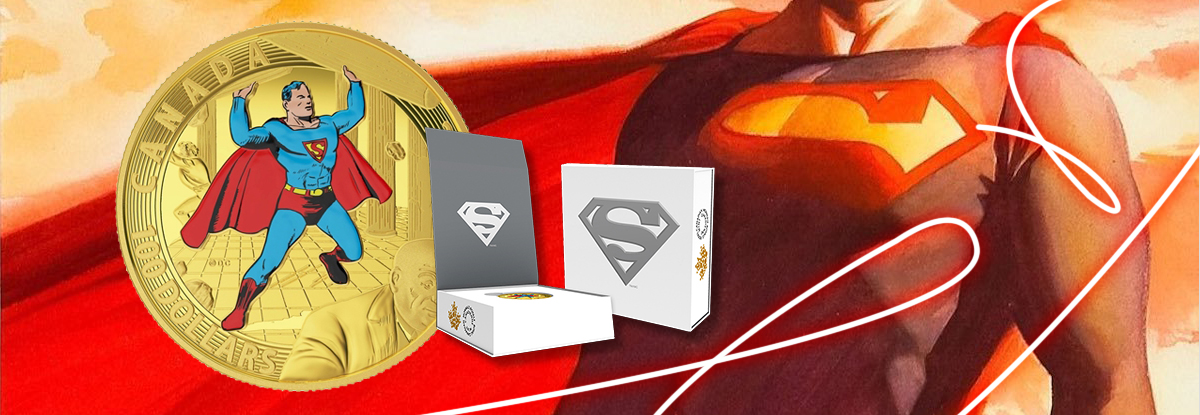 Iconic Superman Collectible Coins