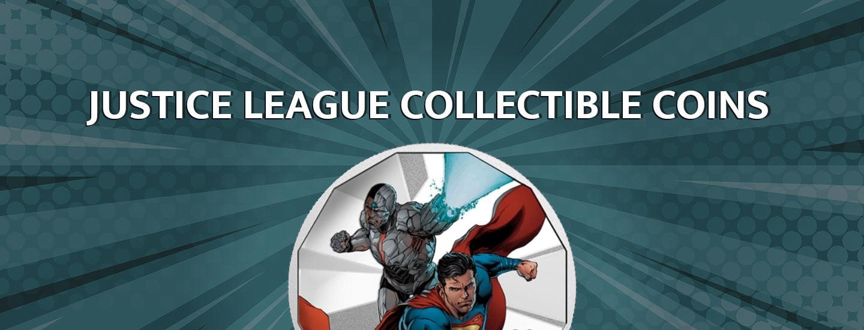 2018 Silver $20 The Justice League Batman and Auqaman Coin