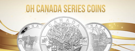 Oh Canada Series Coins