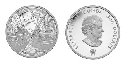 The HMS Shannon and USS Chesapeake Coin