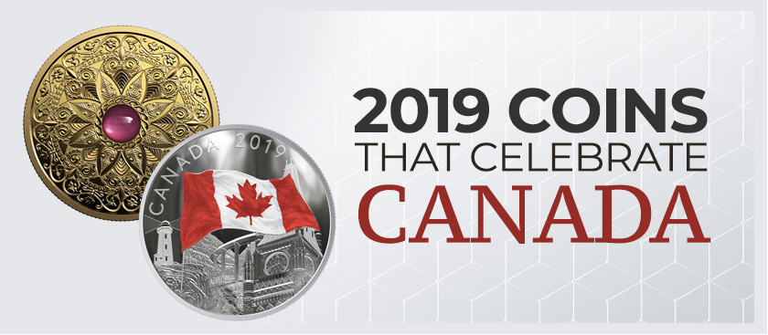 2019 Coins That Celebrate Canada
