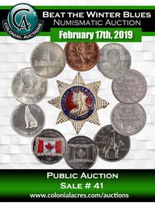 Auction | Colonial Acres Coins